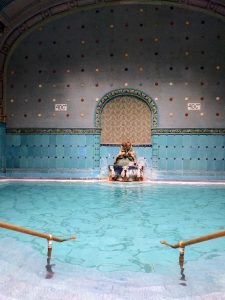One of two beautiful thermal baths at Gellért